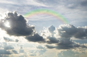 Rainbow In Sky by rakratchada torsap